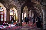 گردشگران نوروزی در مسجد نصیر الملک و نارنجستان قوام شیراز