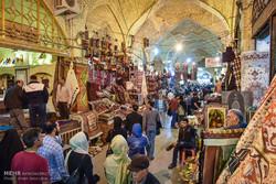 حضور گردشگران در بازار وکیل شیراز
