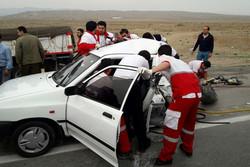 تصادف پراید شریف آباد