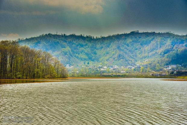 Soostan Lagoon in Lahijan