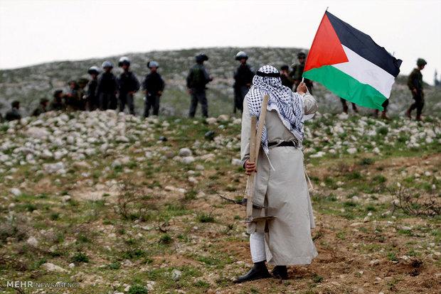 تظاهرات فلسطینیان در روز زمین