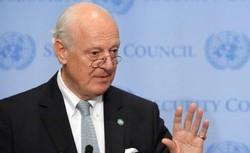 De Mistura continues to serve as special envoy for Syria