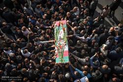 تشییع پیکرهای مطهر 4شهید مدافع حرم در شیراز