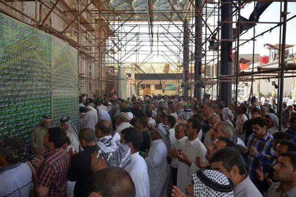 أكثر من مليوني زائر أحيوا مراسيم ذكرى استشهاد الإمام الهادي (ع) في سامراء
