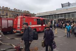 St. Petersburg'da bir metro istasyonu kapatıldı
