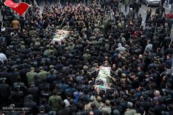 تشييع جثامين 6 شهداء حادث ميرجاوة الارهابي على الحدود الإيرانية الباكستانية