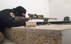 قناص مكافحة الإرهاب يقتل 2 من متزعمي داعش في أيمن الموصل
