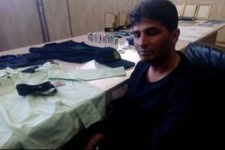 مامور قلابی در آشخانه دستگیر شد
