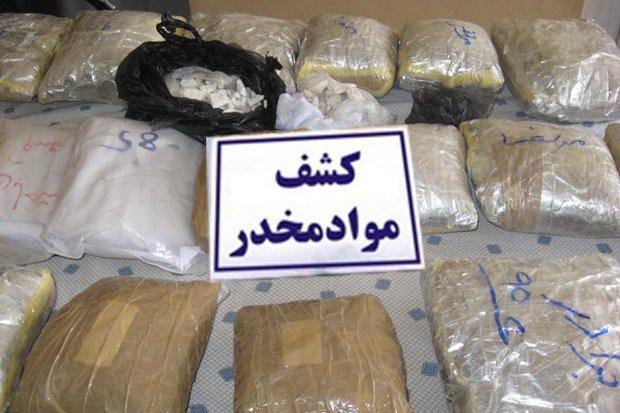 باند بین المللی قاچاق مواد مخدر در شرق استان کرمان منهدم شد