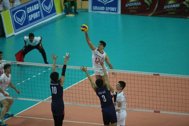 تیم والیبال نوجوانان ایران