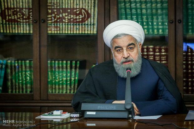الرئيس روحاني  يؤكد استمرار توجهات الحكومة بشأن الاقتصاد المقاوم
