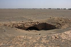 Kum fırtınasının ortaya çıkardığı antik şehir