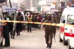 22 قتيل وجريح بتفجير انتحاري شرق باكستان