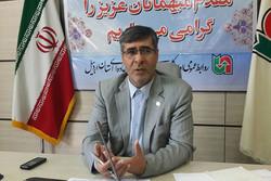 علی رحمتی مدیر کل راهداری اردبیل