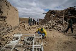 خسائر الهزة الأرضية التي ضربت محافظة خراسان الرضوية