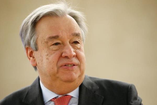 آنتونیو گوترش- دبیرکل سازمان ملل متحد