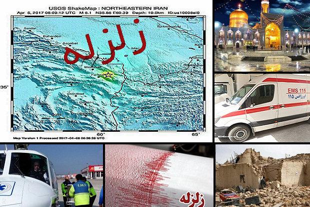 تخریب ۴۰ تا ۱۰۰ درصدی تعدادی روستا/ ۱ کشته و ۳۴ مجروح