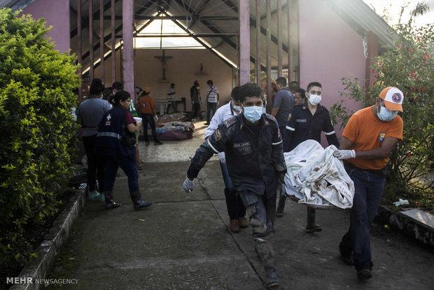 خسارات رانش زمین در کلمبیا