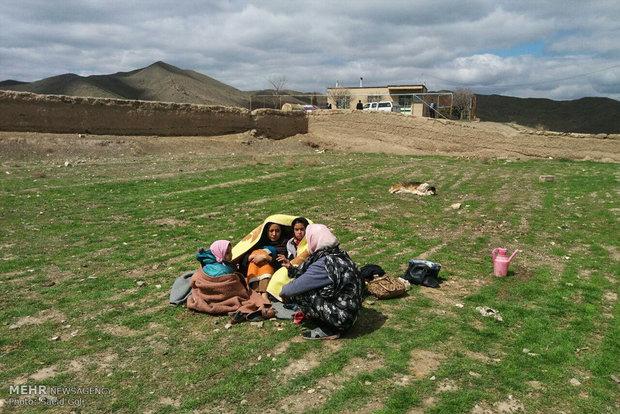 Meşhed'deki deprem bazı köylerde hasara yol açtı