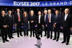 کاهش برتری نامزد مستقل انتخابات فرانسه بر رقبای خود