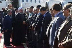 الرئيس روحاني في جولة تفقدية لمحافظة سمنان /صور