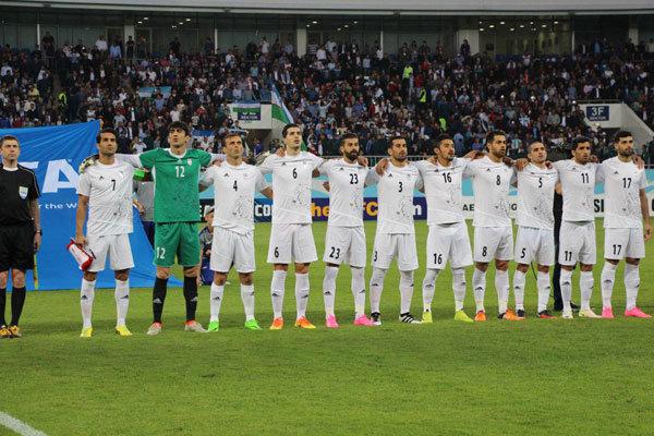 منتخب إيران لكرة القدم يتبوأ المركز 23 بين المنتخبات العالمية