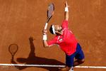 Davis Cup tennis tournament in Isfahan