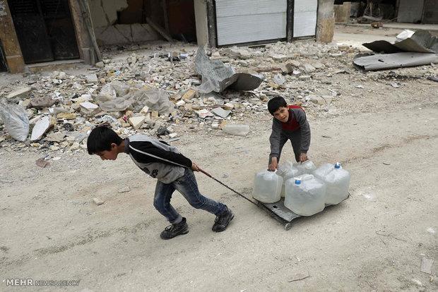 Fotoğraflarla Suriye'deki savaş