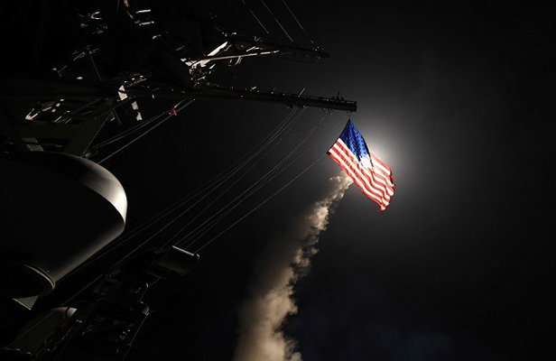 حمله موشکی آمریکا