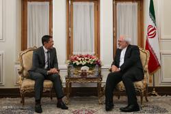 لقاءات وزير الخارجية الايراني صباح اليوم السبت /صور