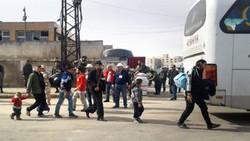 Fourth batch of gunmen starts to leave al-Waer in Syria