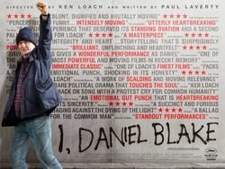 "A poster for British director Ken Loach's acclaimed drama ""I, Daniel Blake"""