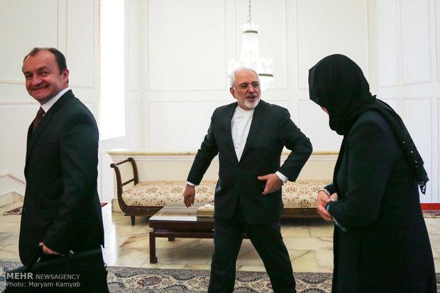 Zarif meets with Hungary's Deputy Prime Minister Zsolt Semjén