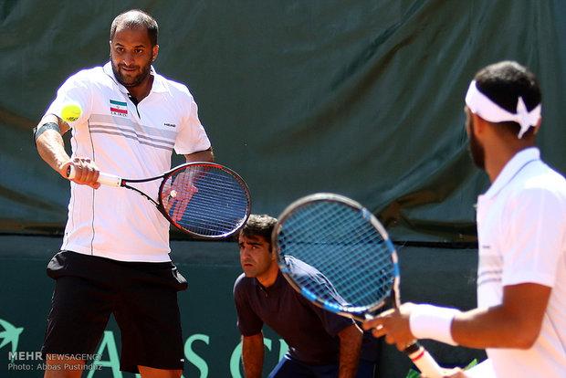 Davis Cup Tenis Turnuvası'ndan kareler