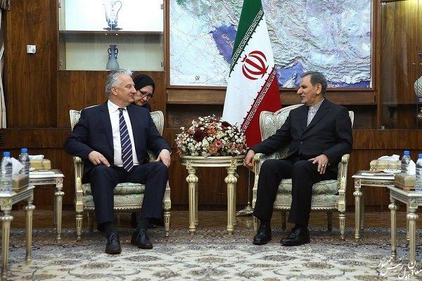 دیدار جهانگیری با معاون نخست وزیر مجارستان