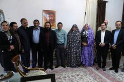دیدار مدیران حوزه هنری با خانواده هنرمندان