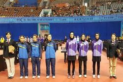 İranlı kadınlardan masa tenisinde büyük başarı