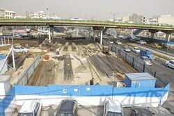 پیشرفت پروژه احداث زیرگذر کوی نصر به مرز ۷۰ درصد رسید