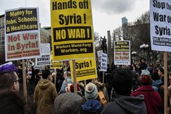 Video: Canadians hold 'Hands Off Syria' rally