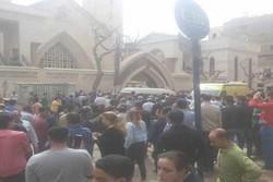 Explosion rocks church in Egypt's Alexandria on Palm Sunday