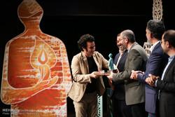 تجلیل از هنرمندان جوان انقلابی در افتتاحیه هفته هنر انقلاب اسلامی