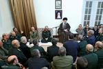 دیدار نوروزی رهبر انقلاب با فرماندهان ارشد نیروهای مسلح