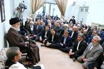 دیدار نوروزی جمعی از مسئولان کشور با رهبر انقلاب
