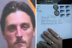 جایزه ۱۰ هزار دلاری برای پیدا کردن مردی که ترامپ را تهدید کرد