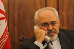 Zarif, Guterres hold phone talk issues of mutual interest