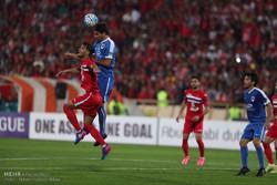 دیدار تیم های فوتبال پرسپولیس و الریان قطر