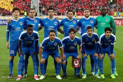 دیدار تیم های فوتبال پرسپولیس تهران و الریان قطر