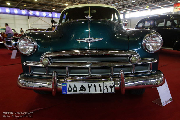 2nd specialized vehicle exhibition in Isfahan