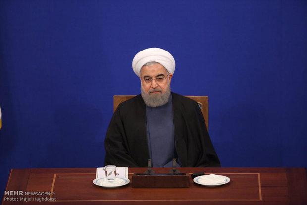 نشست خبری حسن روحانی رئیس جمهور