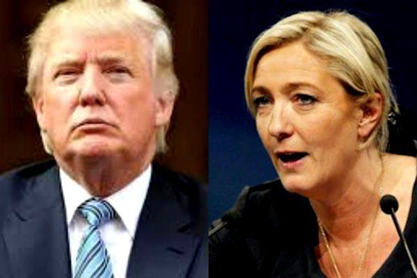 طلاق سیاسی لوپن از ترامپ/ شوک حمله سوریه بر جبهه ملی فرانسه